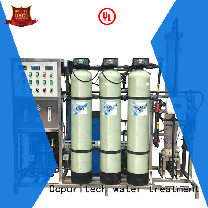 Ocpuritech commercial deionized water filtration system design for household