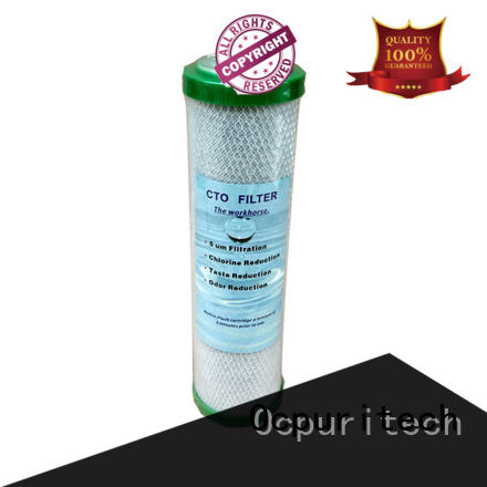CTO activated carbon water filter cartridge