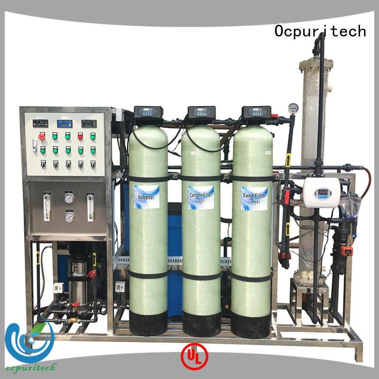 industrial water treatment system companies directly sale for factory